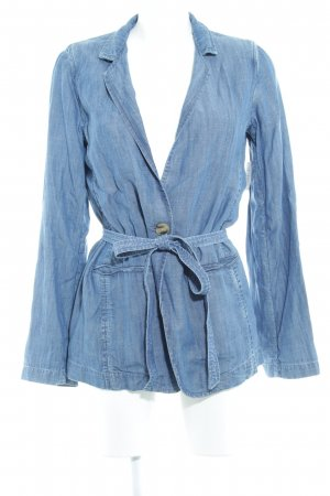Gap Jeansblazer stahlblau Casual-Look