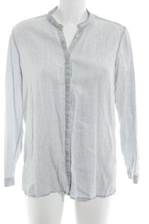 Gap Chemise en jean gris clair style décontracté