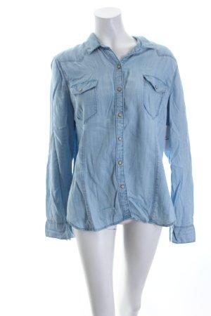 Gap Jeanshemd himmelblau Jeans-Optik