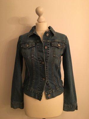 GAP Jeansjacke, blau, schmal geschnitten, Größe S