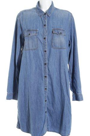 Gap Jeanskleid blau schlichter Stil