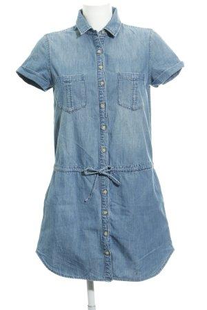 Gap Jeanskleid kornblumenblau Jeans-Optik