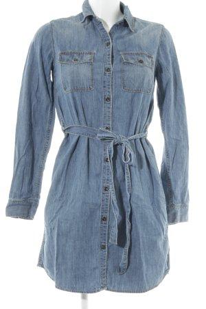 Gap Robe en jean bleu acier Aspect de jeans