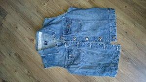 Gap Jeansweste, dunkelblau, schlicht