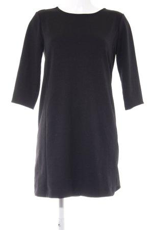 Gap Jerseykleid schwarz Webmuster Casual-Look