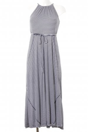 Gap Jerseykleid schwarz-weiß Streifenmuster Casual-Look