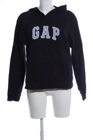 Gap Kapuzenpullover schwarz-blau Casual-Look