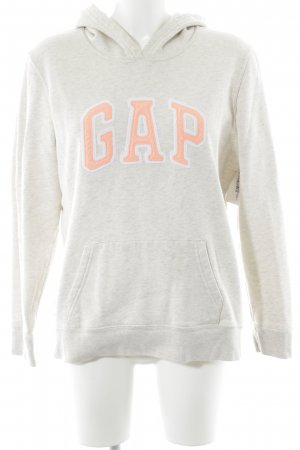 Gap Kapuzensweatshirt Monogram-Muster Casual-Look