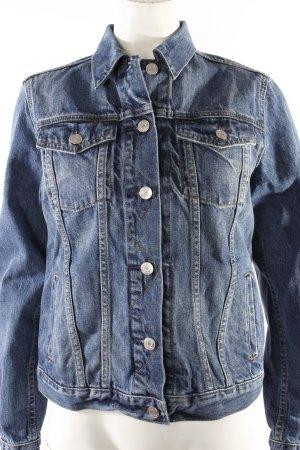 Gap klassische Jeansjacke blau