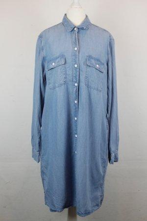 GAP Kleid Blusenkleid Jeanskleid Gr. M light denim