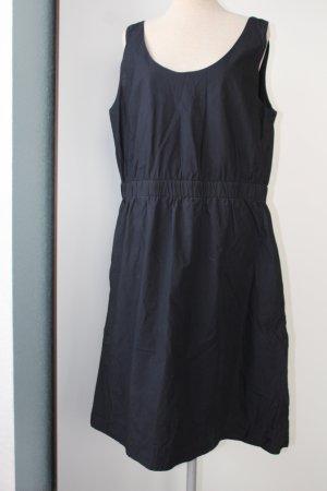 Gap Kleid Gr. 42 44 dunkelblau blau 100 % Baumwolle
