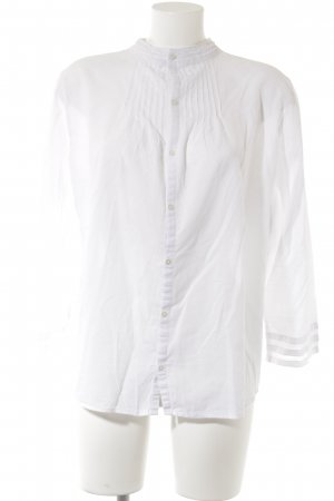 Gap Langarm-Bluse weiß schlichter Stil