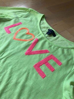 Gap Langarm Shirt mit Pailletten Dekor S