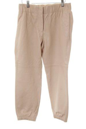 Gap Lederhose creme-rosé Casual-Look