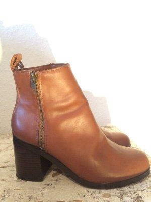 GAP Lederstiefel/ Stiefeletten/ Ankleboots, Größe 41
