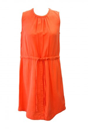 Gap Midi Dress orange lyocell