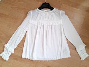 Gap Carmen shirt wit Textielvezel