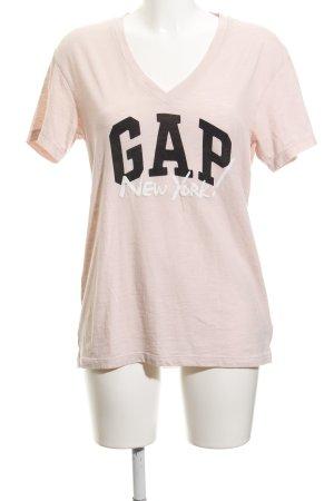 Gap Print-Shirt Schriftzug gedruckt Casual-Look
