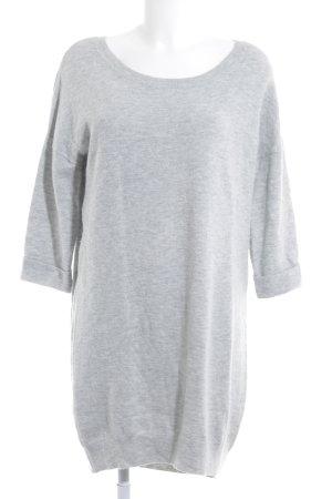 Gap Sweaterjurk lichtgrijs casual uitstraling
