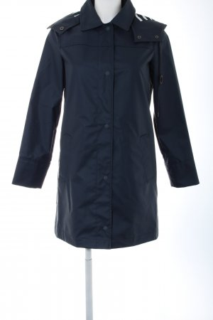 Gap Heavy Raincoat blue casual look