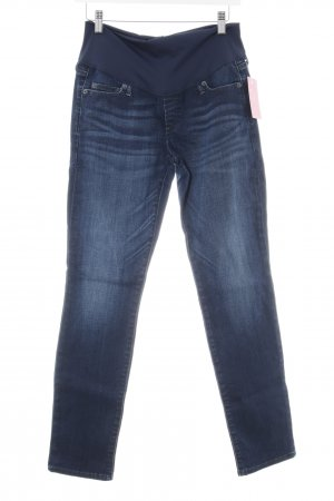 Gap Röhrenjeans dunkelblau Jeans-Optik