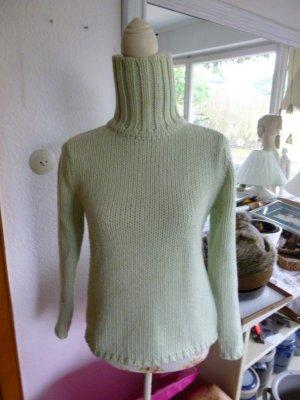 GAP Rollkragenpullover grün Gr.M Wolle