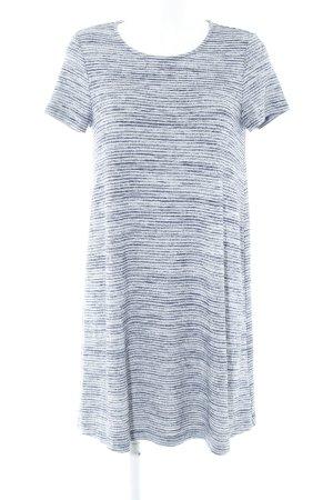 Gap Vestido estilo camisa blanco-azul oscuro estampado a rayas estilo deportivo
