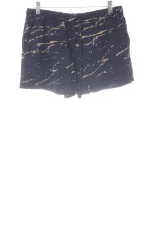 Gap Shorts dunkelblau-sandbraun Farbverlauf schlichter Stil