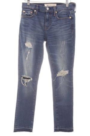 Gap Skinny Jeans blau Destroy-Optik