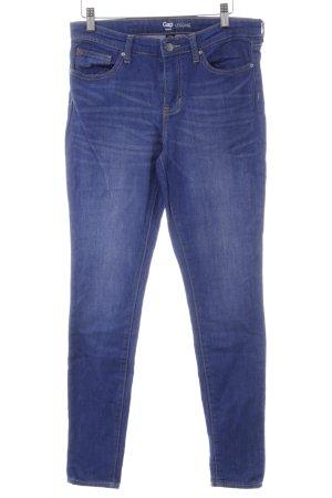 Gap Skinny Jeans stahlblau-blau Casual-Look
