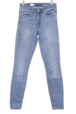 Gap Jeans skinny bleu acier style décontracté