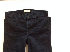 Gap Biker jeans donkerblauw Katoen