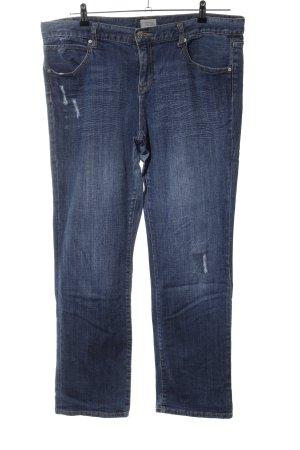 Gap Straight-Leg Jeans blau Casual-Look