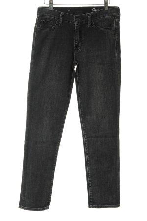 Gap Straight-Leg Jeans anthrazit schlichter Stil