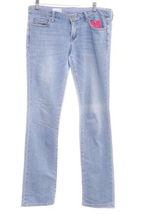 Gap Straight-Leg Jeans himmelblau Casual-Look