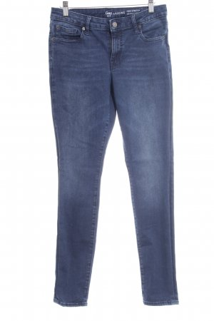 Gap Stretch Jeans dunkelblau Washed-Optik