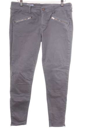 Gap Stretch Jeans grau Biker-Look