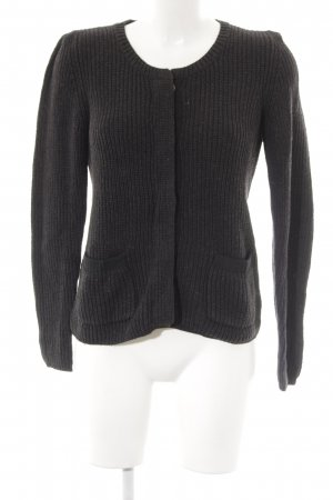 Gap Strickjacke anthrazit Casual-Look