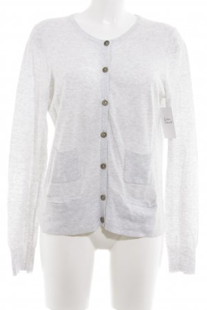 Gap Strickjacke hellgrau Casual-Look