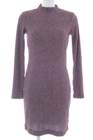 Gap Strickkleid braunviolett-blasslila meliert Casual-Look