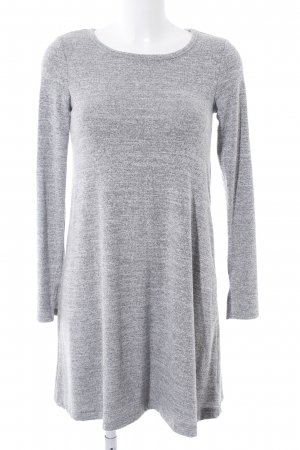 Gap Strickkleid grau-wollweiß meliert Casual-Look