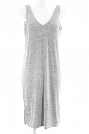 Gap Robe en maille tricotées gris clair-gris moucheté style simple