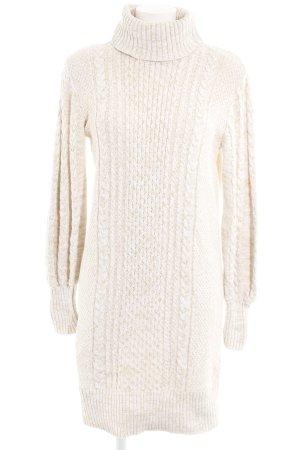 Gap Strickkleid weiß-creme meliert Casual-Look