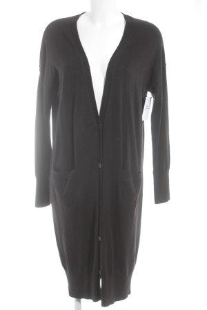 Gap Gebreide jas zwart straat-mode uitstraling