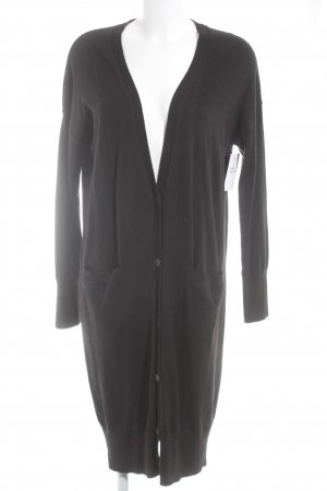 Gap Cappotto a maglia nero stile da moda di strada