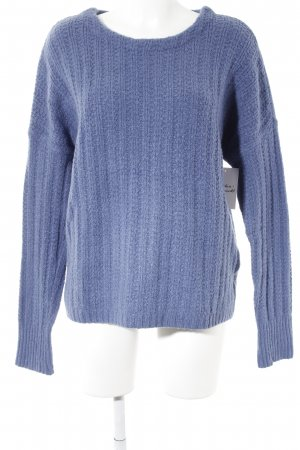 Gap Knitted Sweater purple casual look