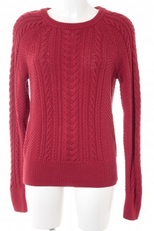 Gap Strickpullover rot Webmuster Brit-Look