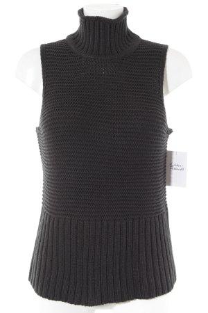 Gap Gilet tricoté noir style décontracté