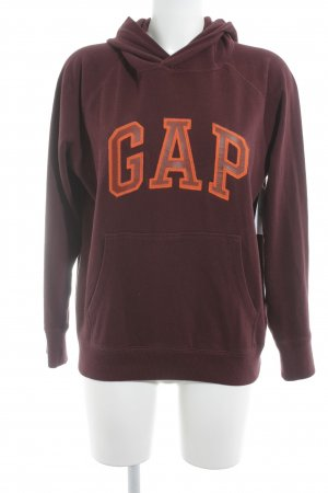 Gap Sweatshirt braunrot Motivdruck Casual-Look