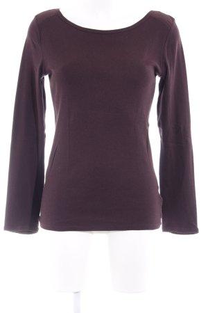 Gap Sweatshirt brombeerrot minimalistischer Stil